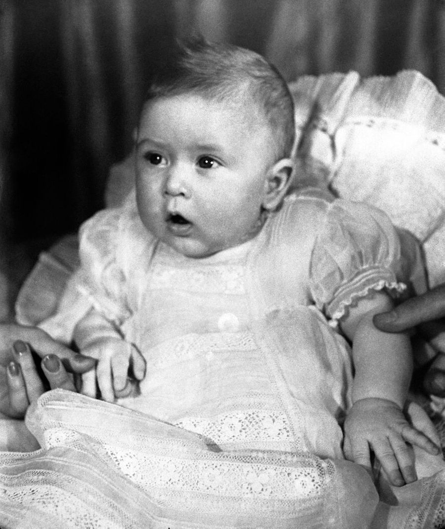 Le prince Charles, le 6 avril 1949