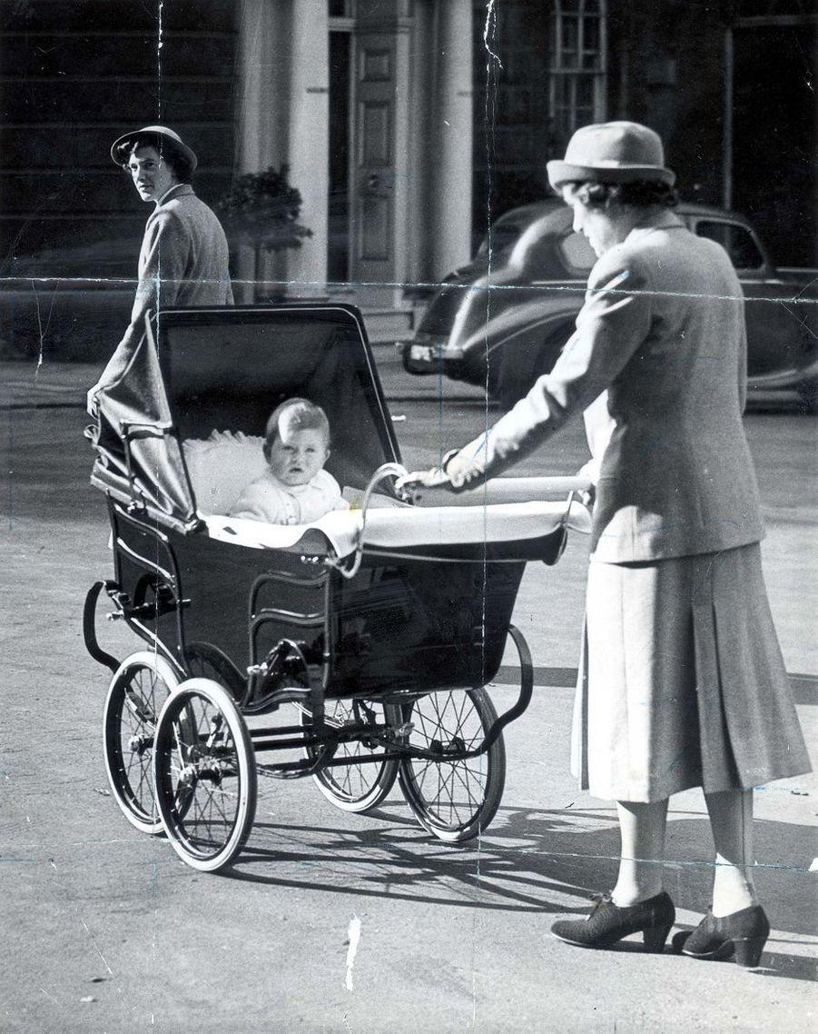 Le prince Charles, le 13 octobre 1949