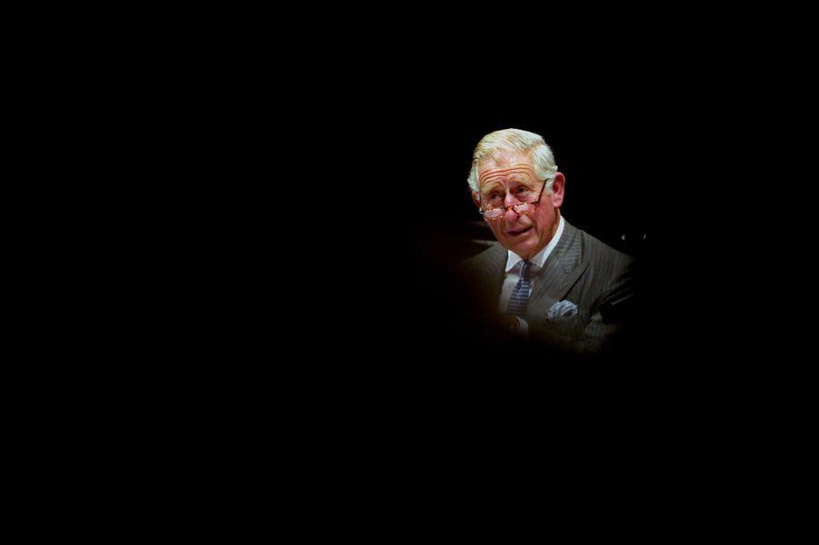 Le prince Charles a fêté ses 66 ans avec la Royal Shakespeare Company à Stratford upon Avon, le 14 novembre 2014