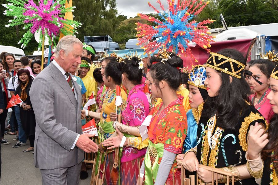 Le prince Charles au Llangollen International Musical Eisteddfod, le 7 juillet 2015
