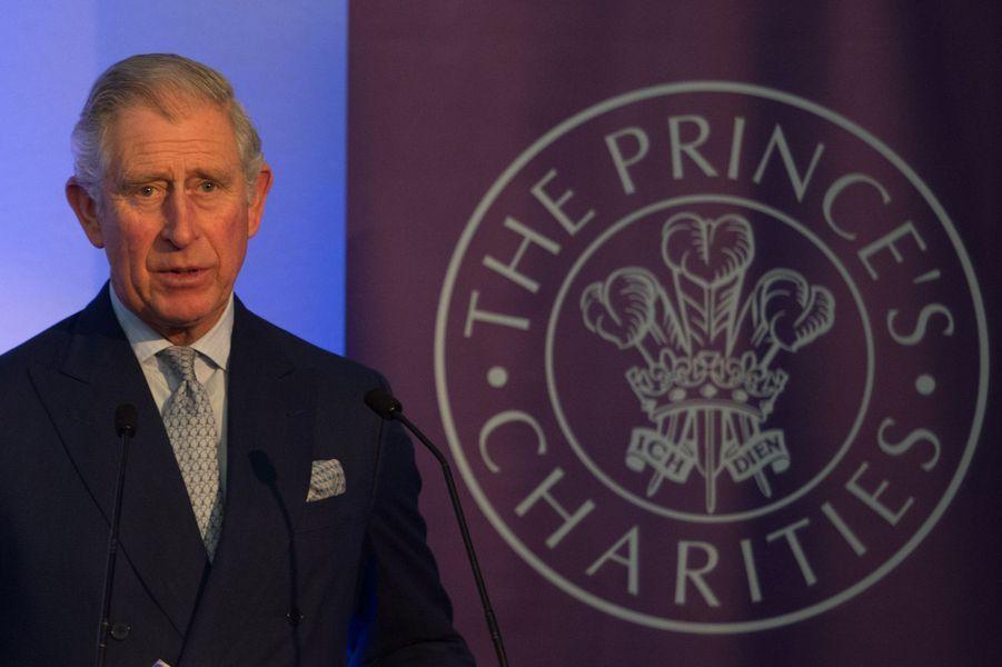 Le Prince Charles au sommet A4S à l'Institute of Directors à Londres, le 11 décembre 2014