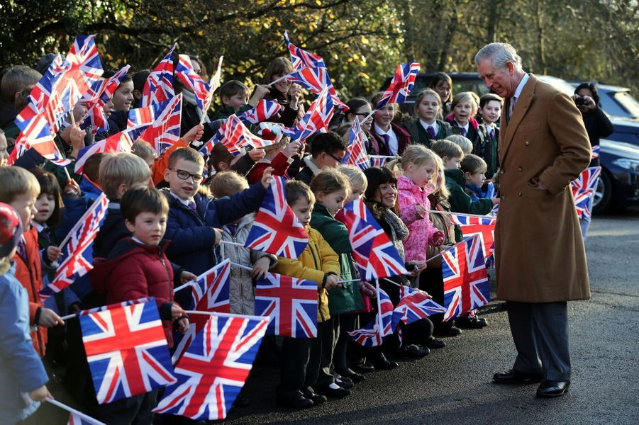Le prince Charles valorise un programme de logements abordables à West Hanningfield, le 16 décembre 2014
