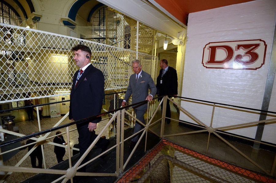 Le prince Charles à la prison de Leeds, le 10 septembre 2015