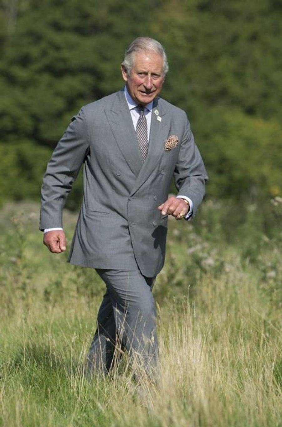 Le prince Charles à Swinithwaite, le 10 septembre 2015