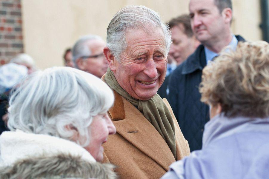 Le prince Charles à Pounbury, le 23 novembre 2015