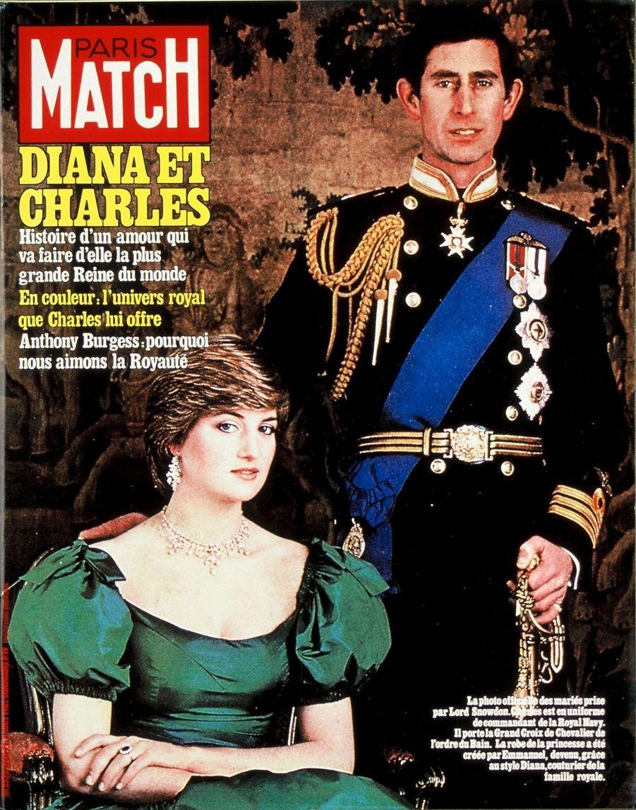 Le prince Charles en couverture du Paris Match n°1680, daté du 7 août 1981.