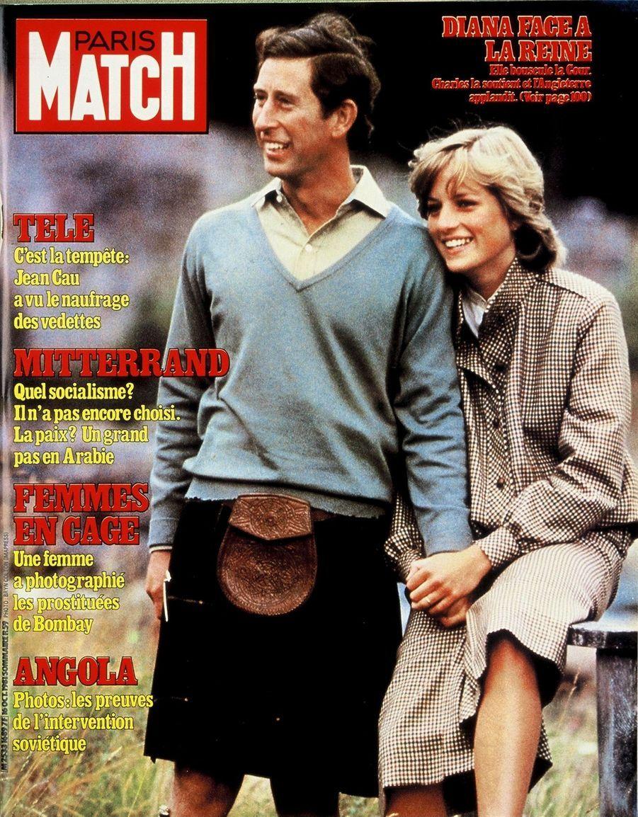 Le prince Charles en couverture du Paris Match n°1689, daté du 9 octobre 1981.