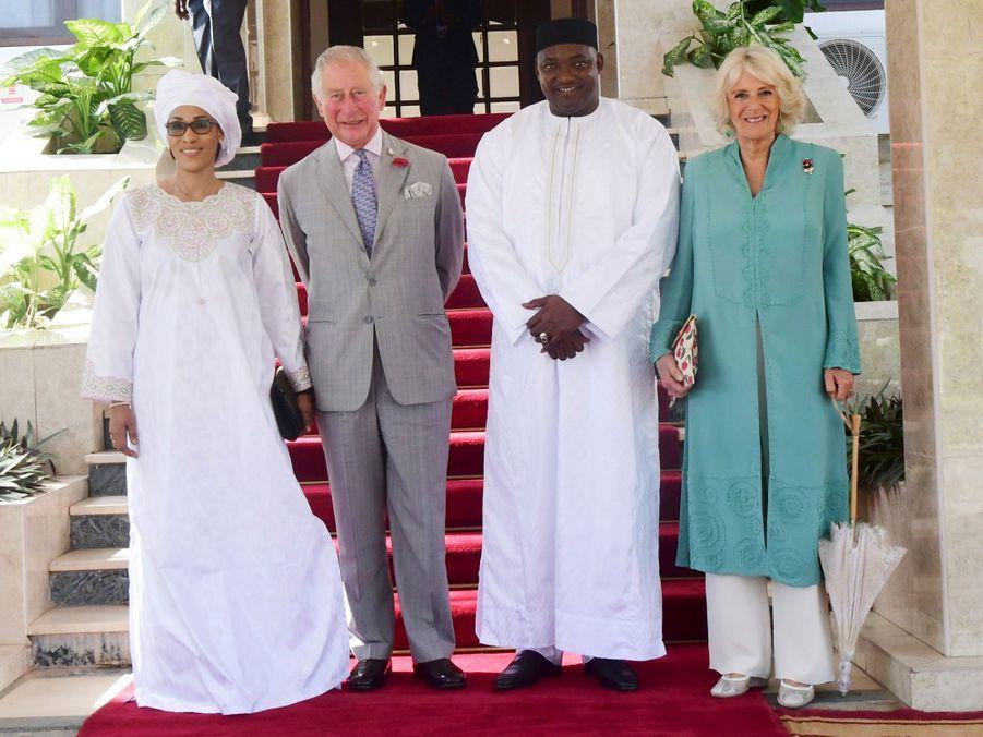 Le Prince Charles Et Camilla Lors De Leur Tournée En Afrique ( 12