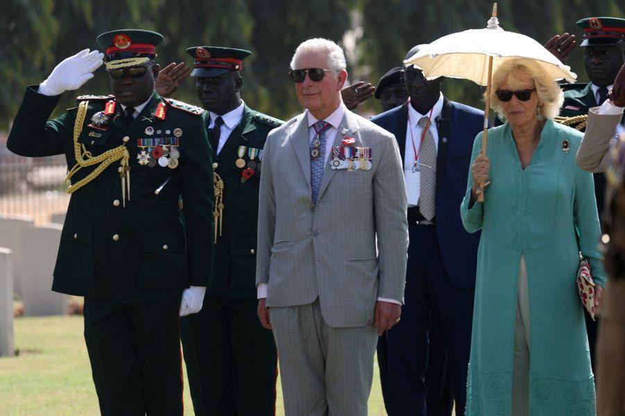 Le Prince Charles Et Camilla Lors De Leur Tournée En Afrique ( 13