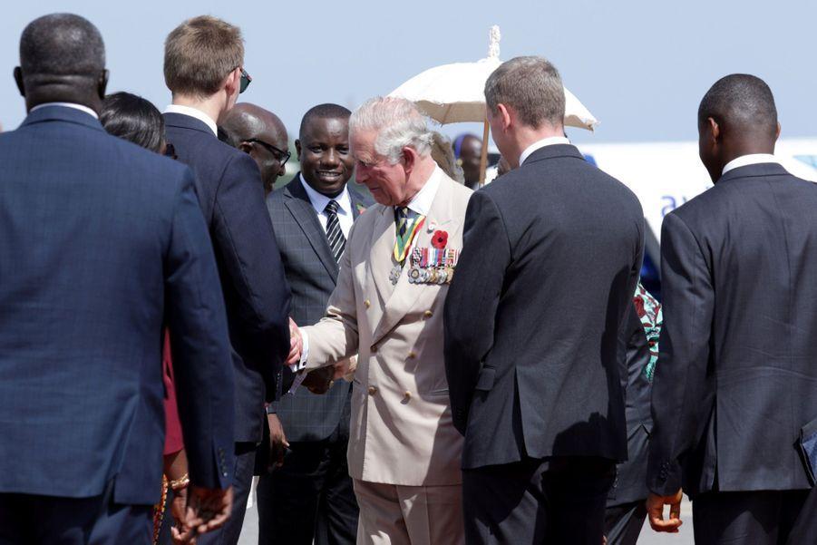 Le Prince Charles Et Camilla Lors De Leur Tournée En Afrique ( 16