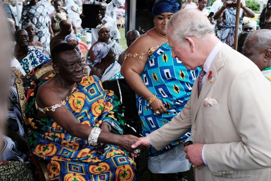 Le Prince Charles Et Camilla Lors De Leur Tournée En Afrique ( 5