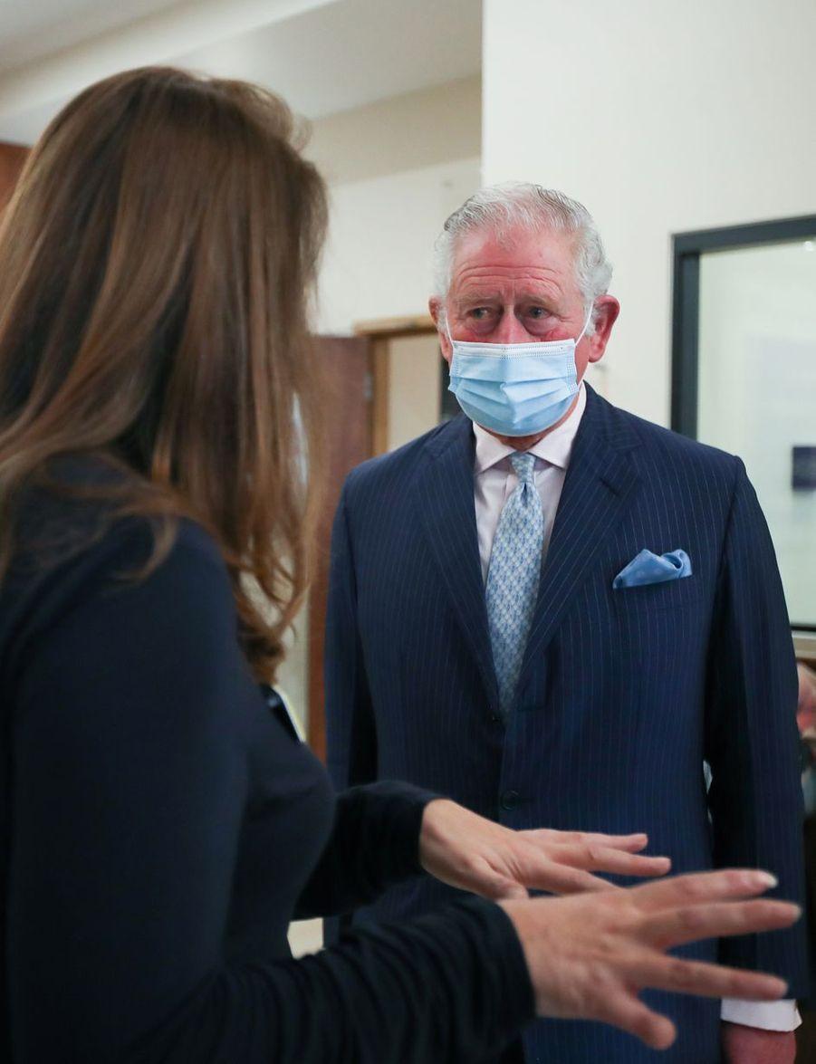 Le prince Charles à Birmingham, le 17 février 2021
