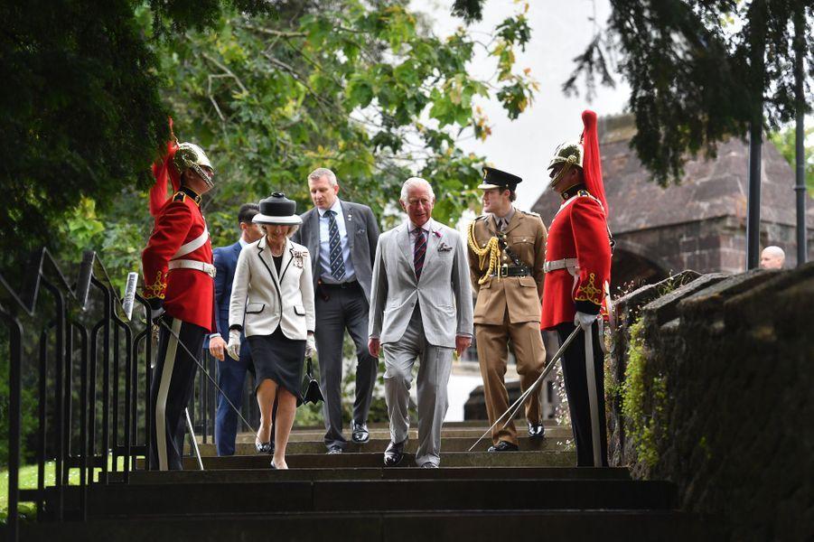 Le prince Charles à Cardiff, le 1er juillet 2019