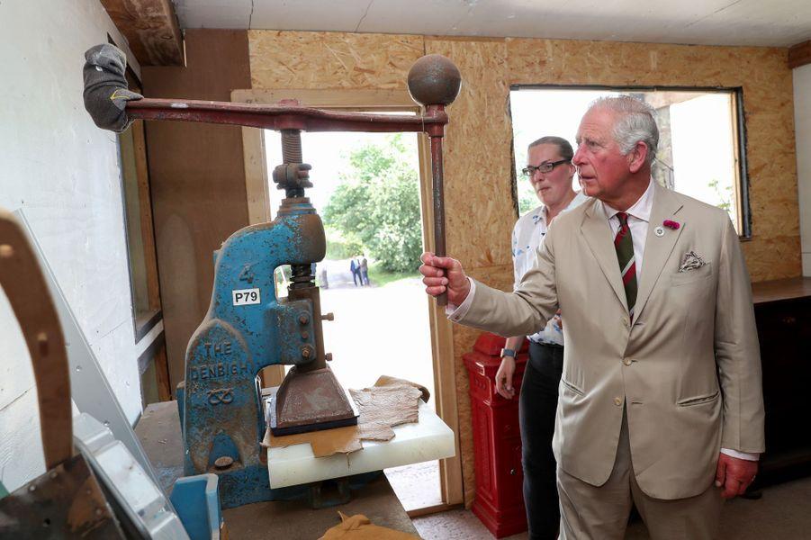 Le prince Charles à Brecon, le 4 juillet 2019