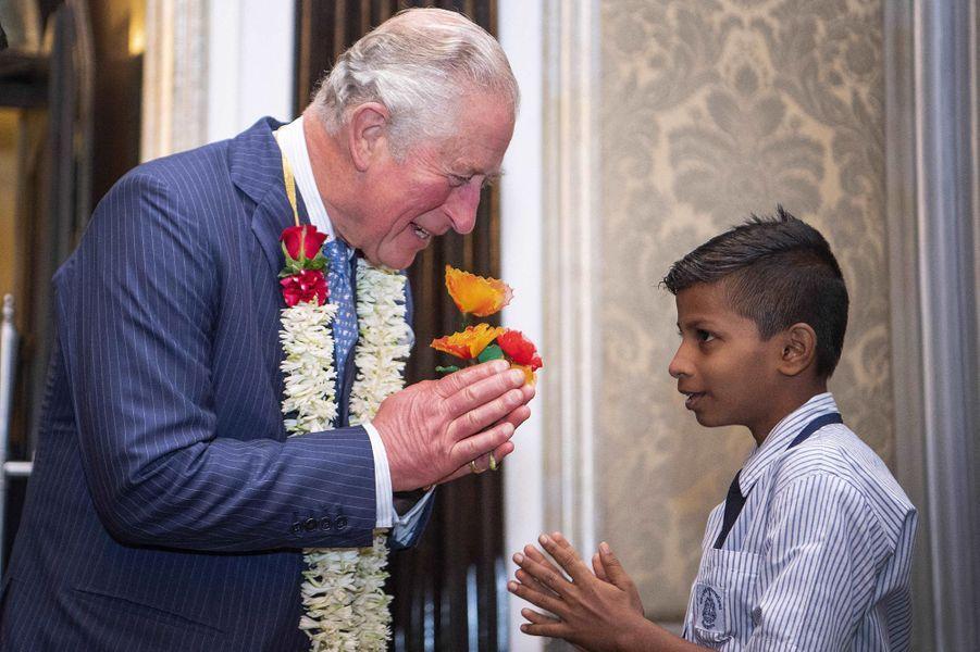 Le prince Charles fête ses 71 ans à Mumbay, le 14 novembre 2019