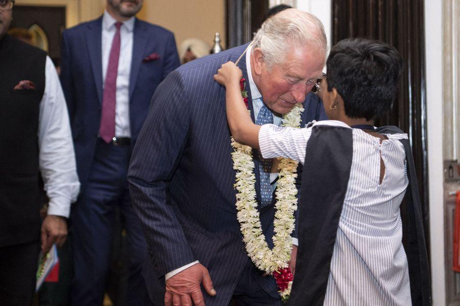 Le prince Charles fête ses 71 ans à Mumbay (Bombay), le 14 novembre 2019