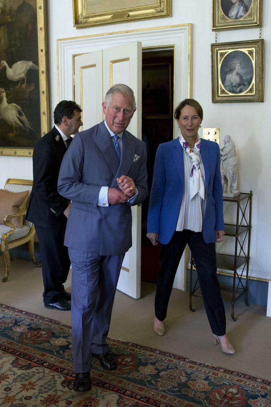 Le prince Charles invité par Ségolène Royal