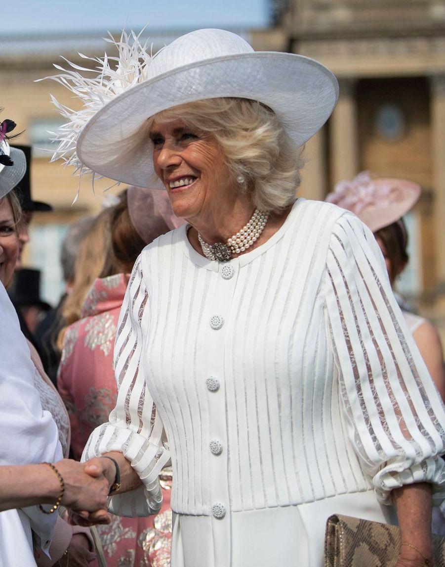 La duchesse de Cornouailles Camilla à Londres, le 15 mai 2019