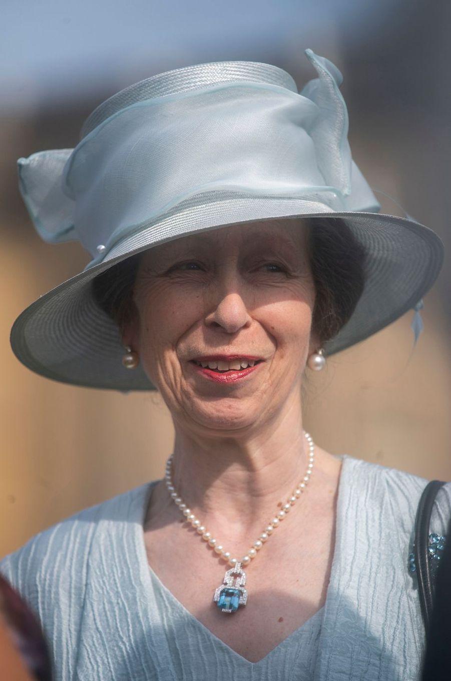 La princesse Anne à Londres, le 15 mai 2019