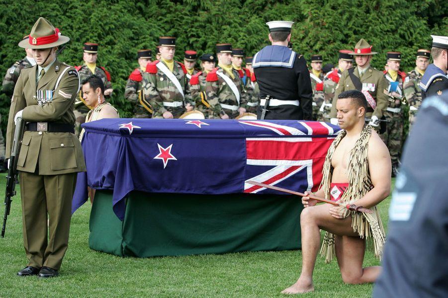 Cérémonie à laquelle participait le prince Charles à Longueval en France, le 15 septembre 2016