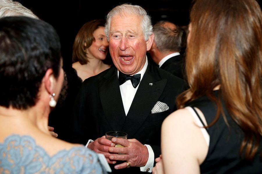 Le prince Charles à Londres, le 4 avril 2019