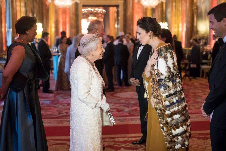 La Reine Ouvre En Famille Le Sommet Du Commonwealth Au Château De Windsor, Jeudi 19 Avril 21