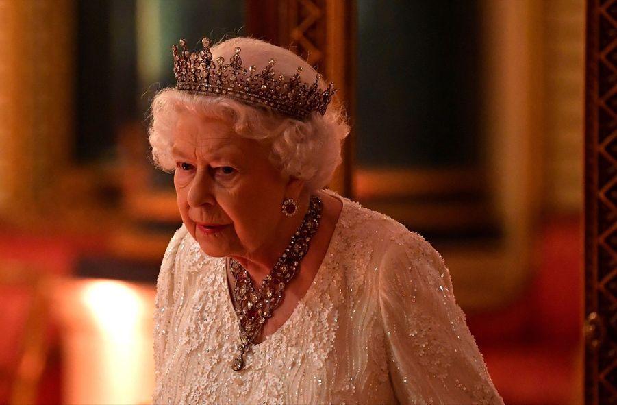 La Reine Ouvre En Famille Le Sommet Du Commonwealth Au Château De Windsor, Jeudi 19 Avril 23