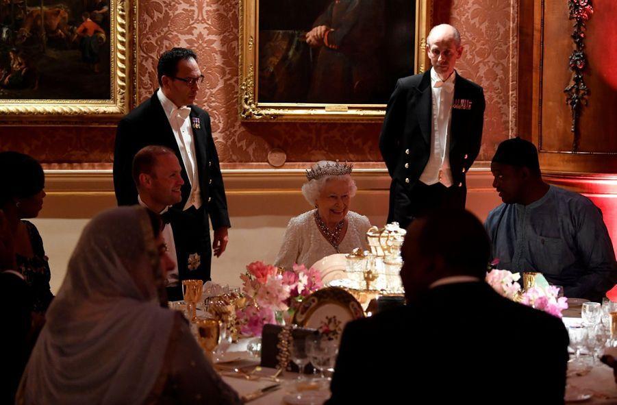 La Reine Ouvre En Famille Le Sommet Du Commonwealth Au Château De Windsor, Jeudi 19 Avril 24