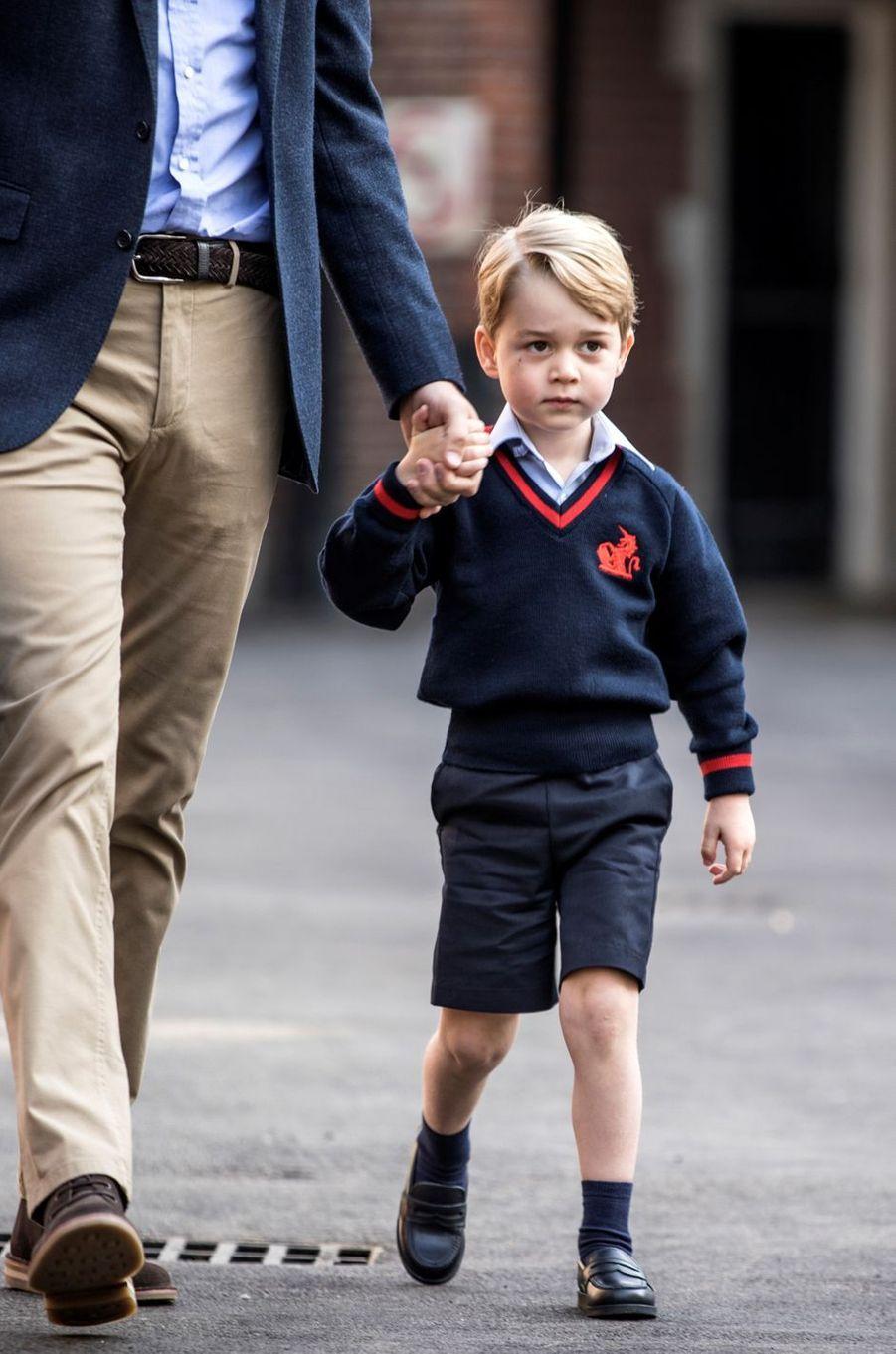 Le prince George à Londres, le 7 septembre 2017