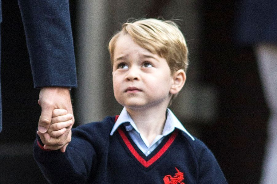 Le prince George de Cambridge à Londres, le 7 septembre 2017