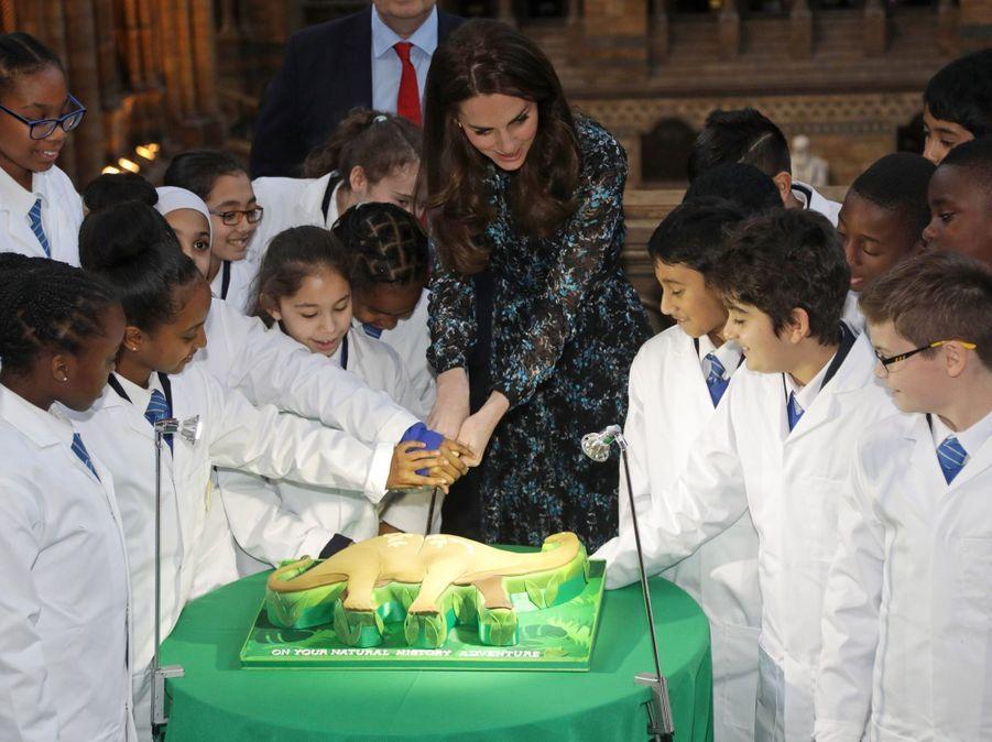 Kate Middleton Au Museum D'Histoire Naturelle De Londres 12