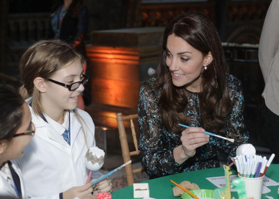 Kate Middleton Au Museum D'Histoire Naturelle De Londres 14