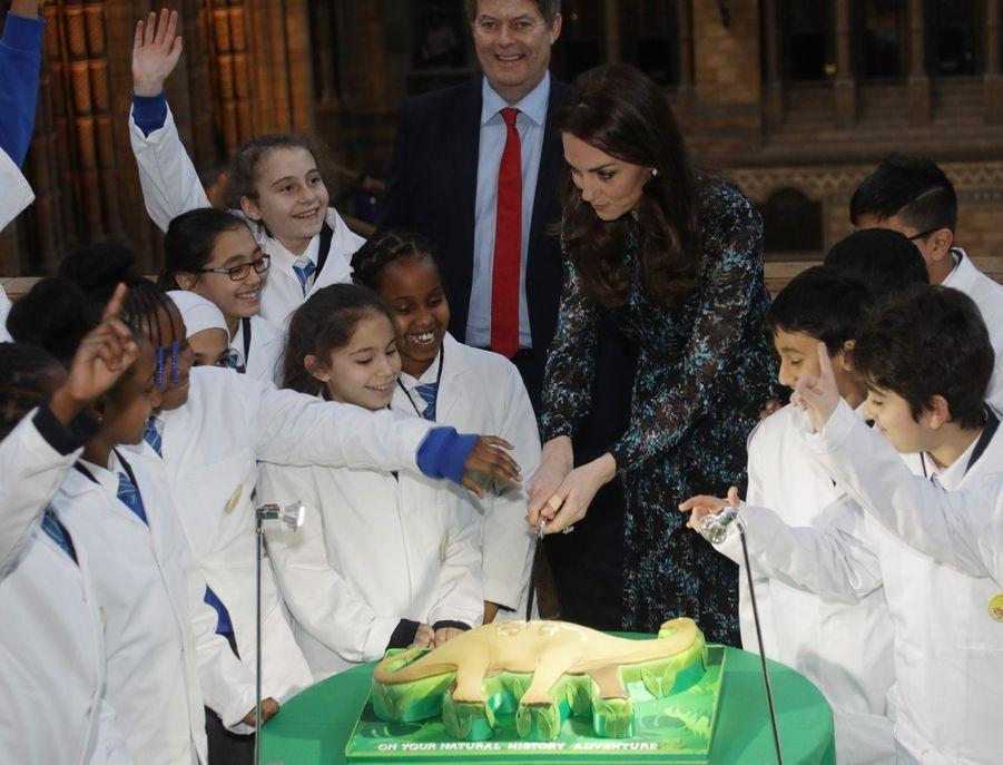 Kate Middleton Au Museum D'Histoire Naturelle De Londres 16