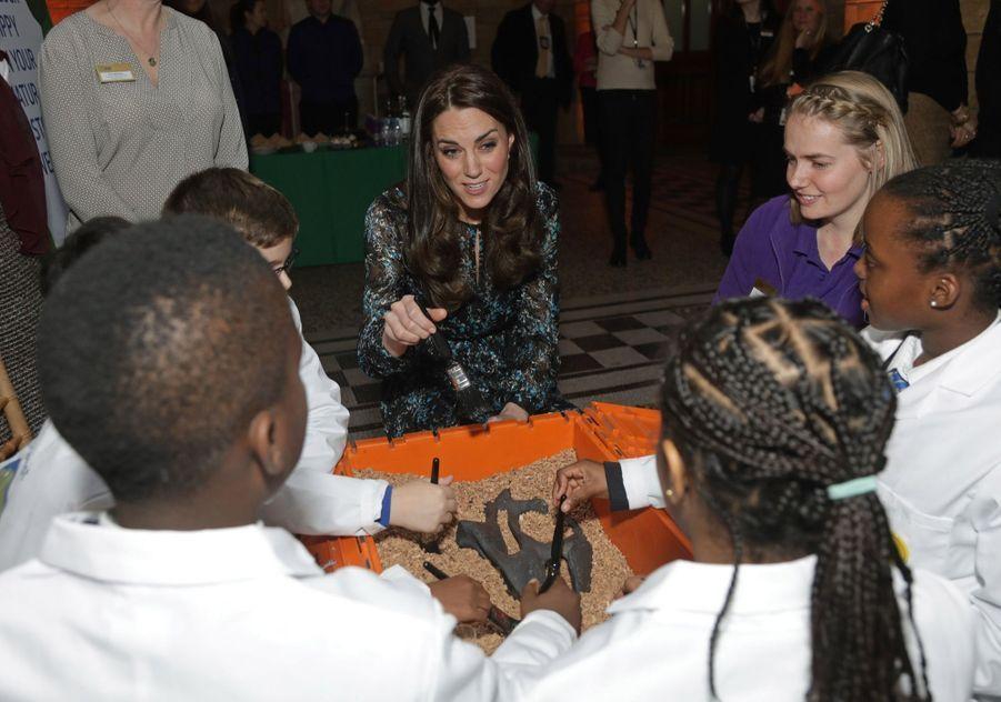 Kate Middleton Au Museum D'Histoire Naturelle De Londres 17