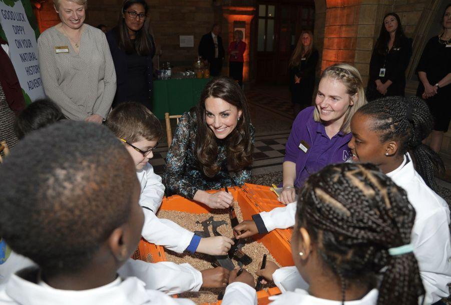 Kate Middleton Au Museum D'Histoire Naturelle De Londres 18