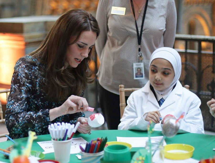Kate Middleton Au Museum D'Histoire Naturelle De Londres 2