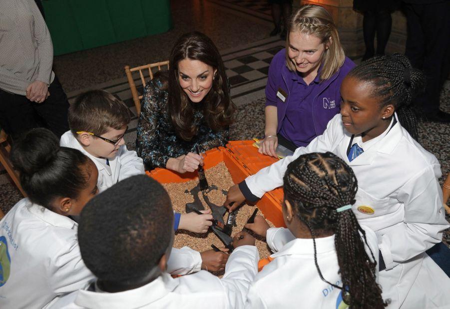 Kate Middleton Au Museum D'Histoire Naturelle De Londres 20