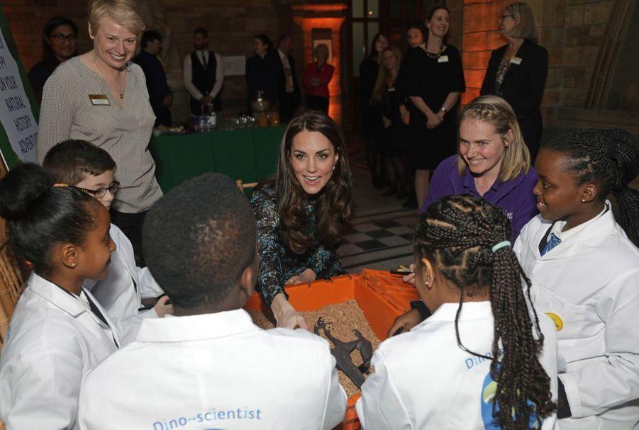 Kate Middleton Au Museum D'Histoire Naturelle De Londres 21