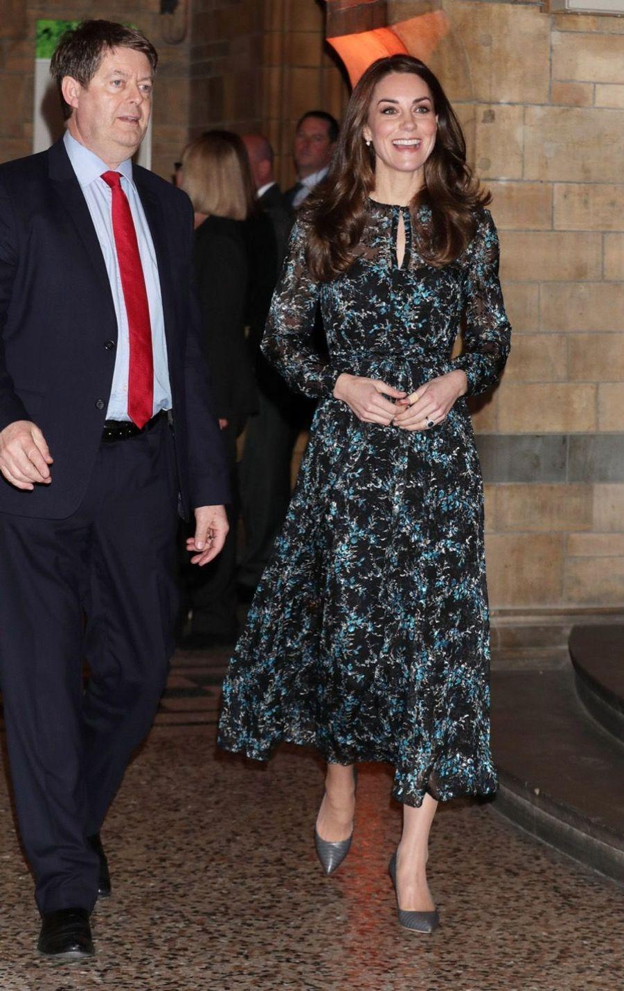 Kate Middleton Au Museum D'Histoire Naturelle De Londres 22