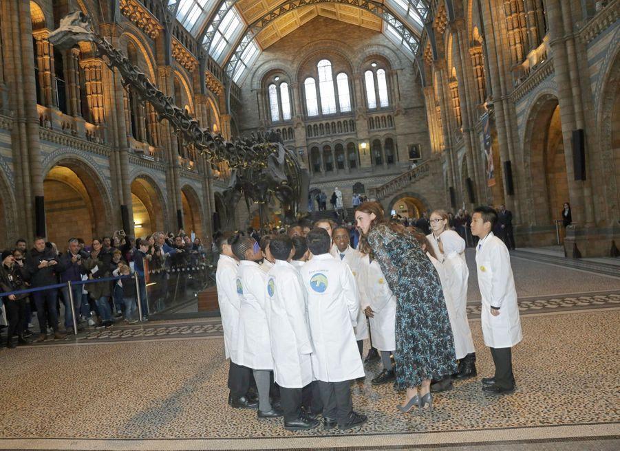 Kate Middleton Au Museum D'Histoire Naturelle De Londres 27
