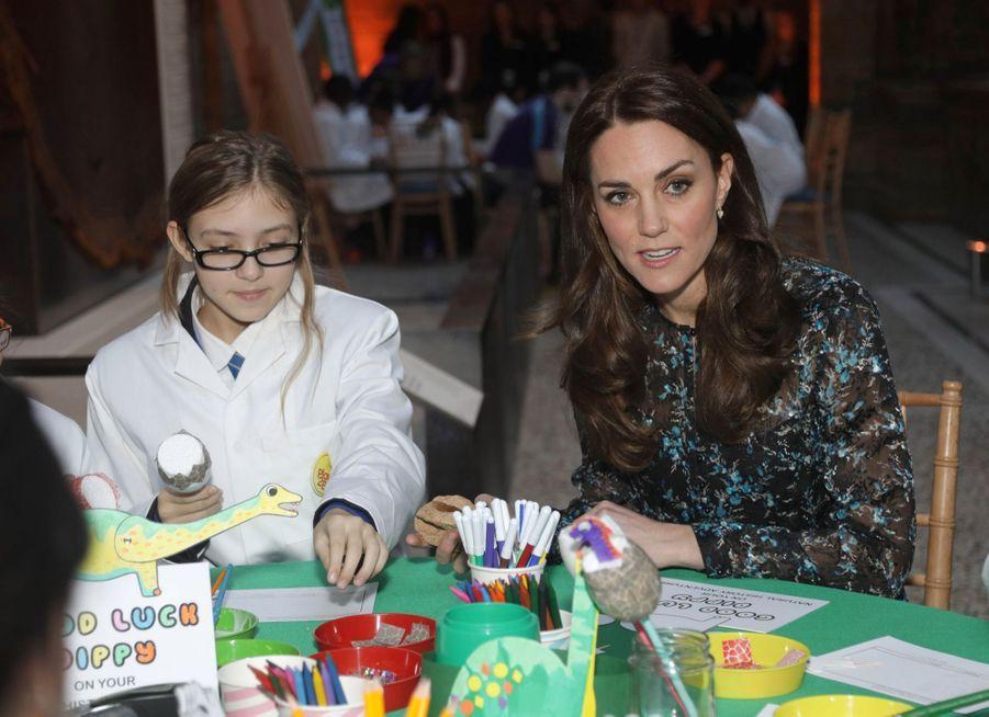 Kate Middleton Au Museum D'Histoire Naturelle De Londres 4