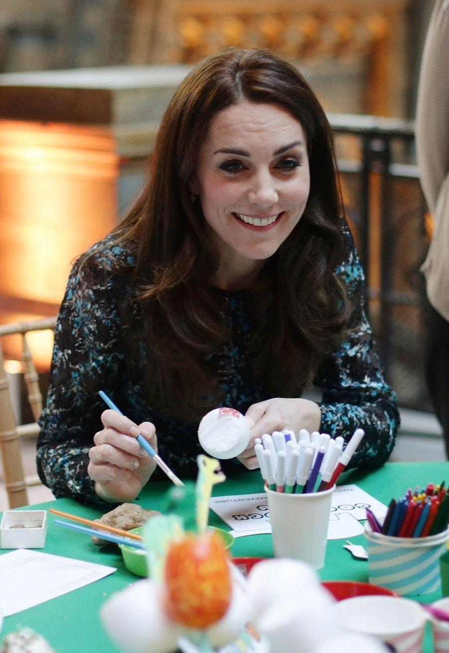 Kate Middleton Au Museum D'Histoire Naturelle De Londres 5