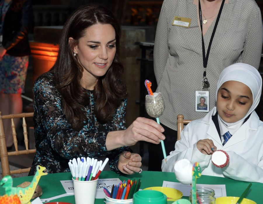 Kate Middleton Au Museum D'Histoire Naturelle De Londres 6