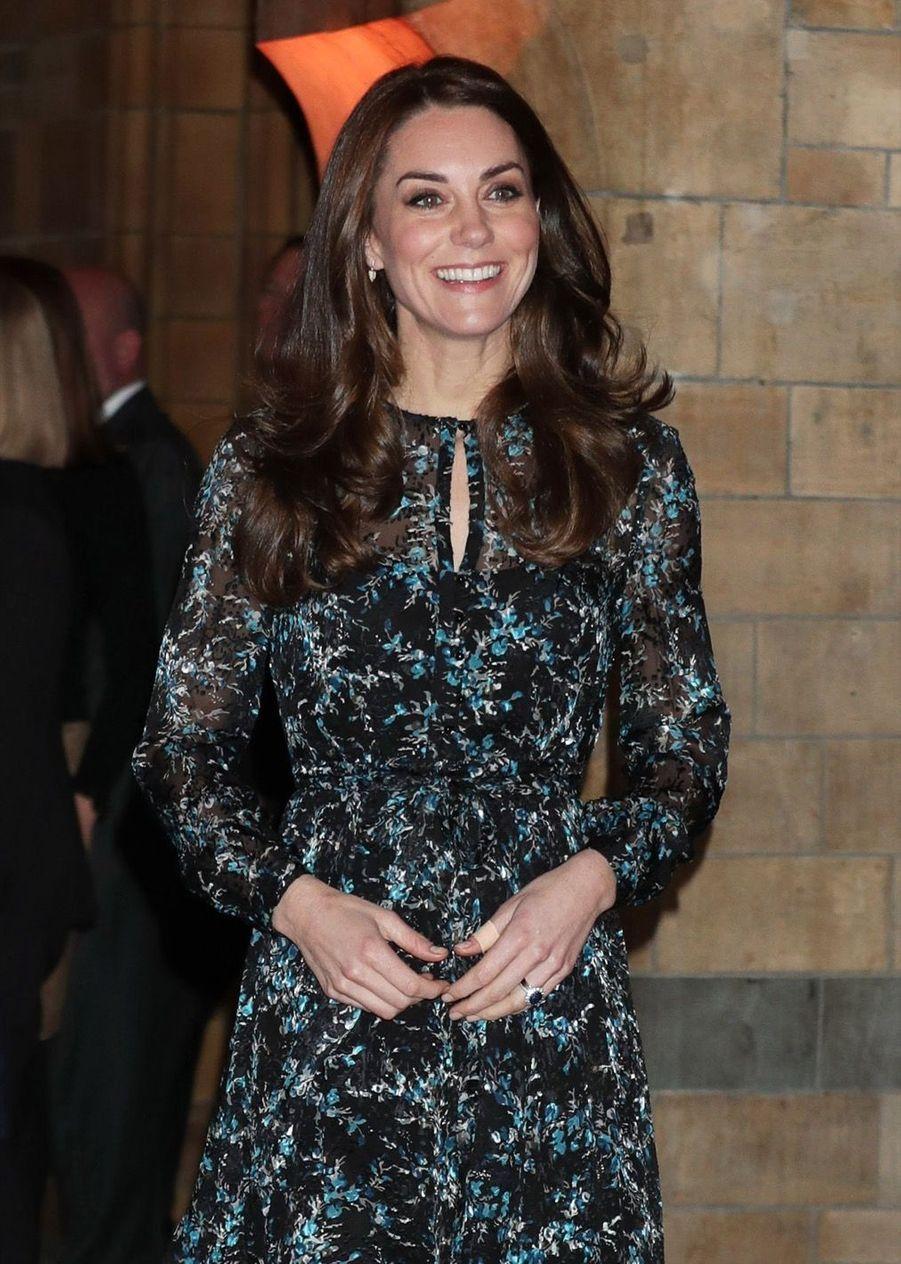 Kate Middleton Au Museum D'Histoire Naturelle De Londres 8