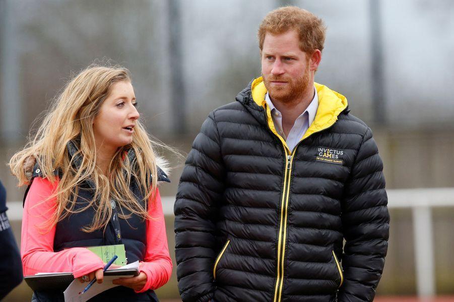 Le prince Harry à Bath, le 29 janvier 2016
