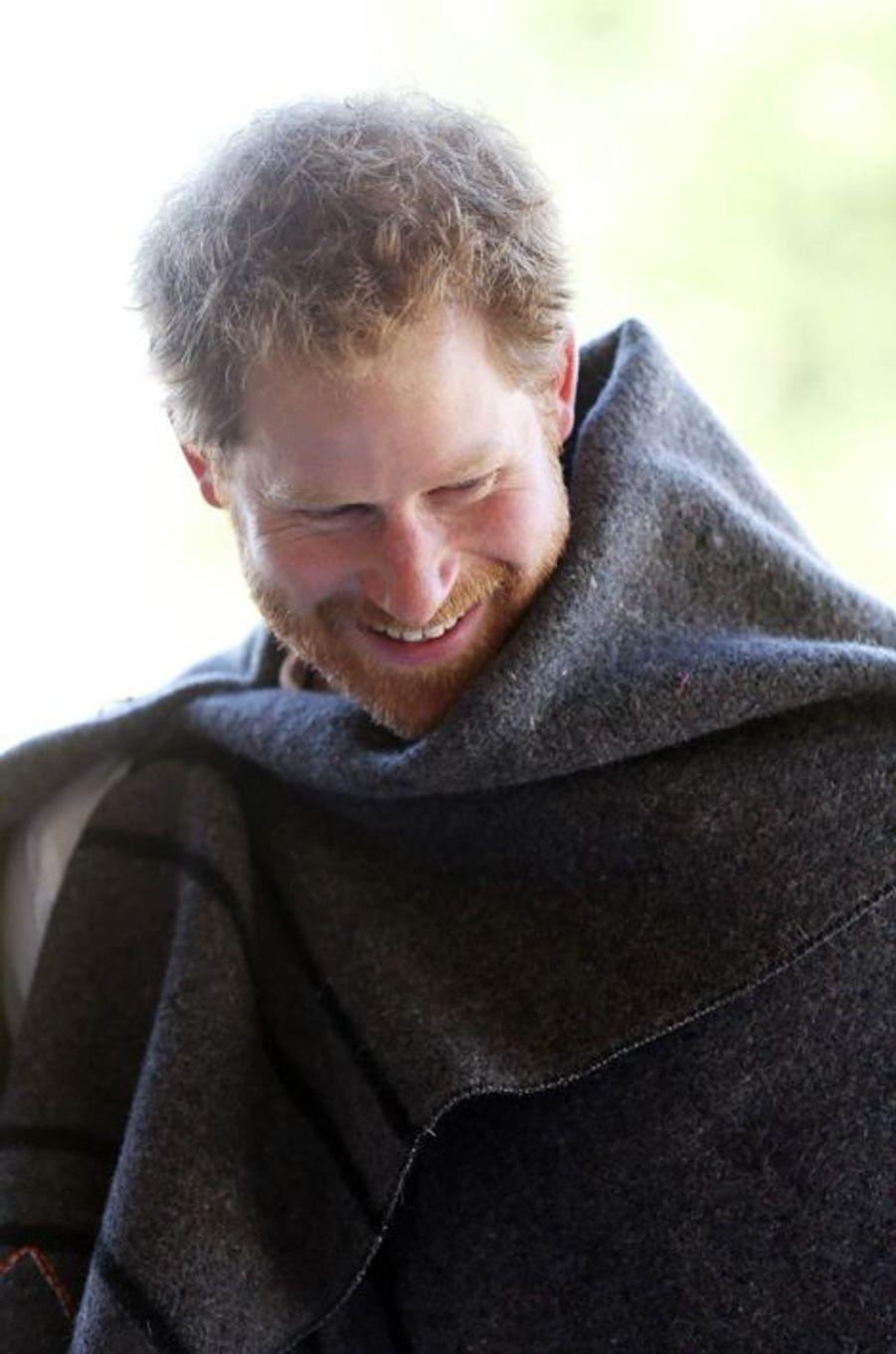 Le prince Harry au Lesotho, le 26 novembre 2015