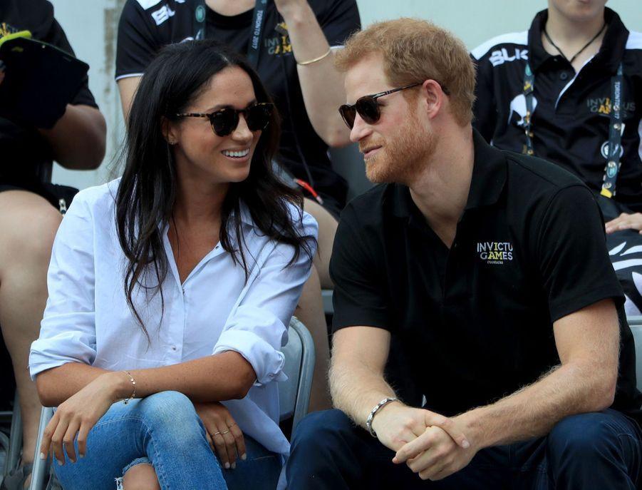 Le Prince Harry Et Meghan Markle, Première Apparition Officielle Ensemble En Public 2