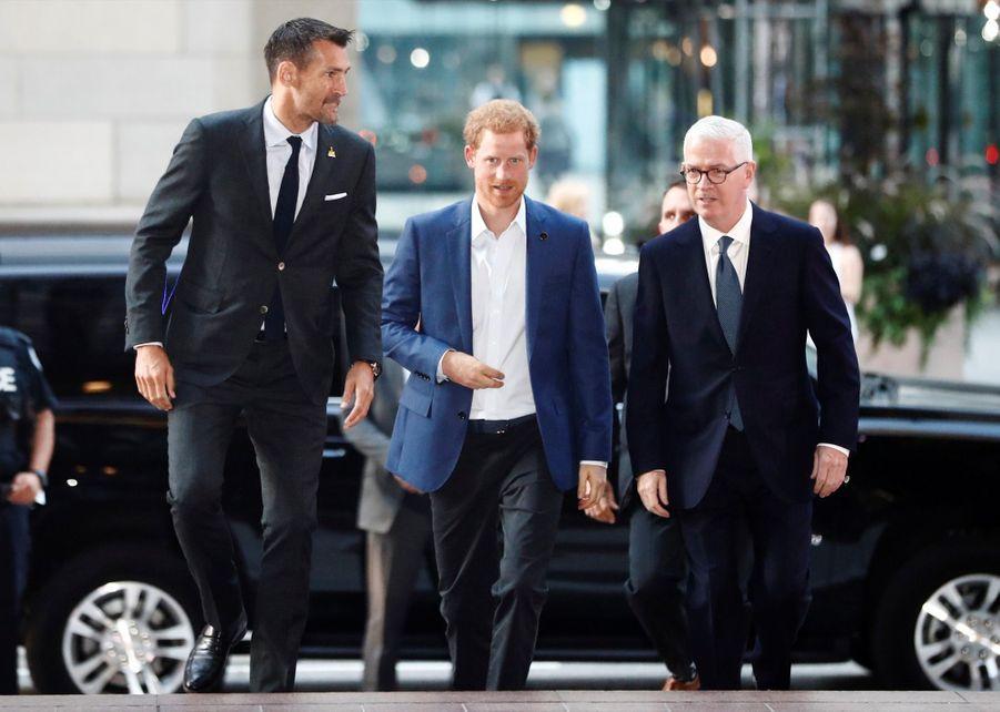 Le Prince Harry, La Veille Des Invictus Games 2017, Vendredi 22 Septembre 1