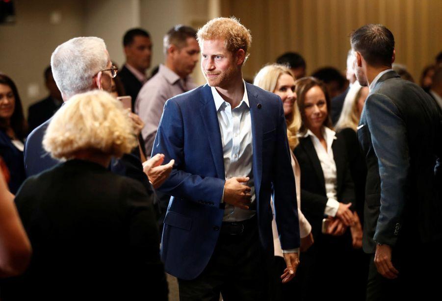 Le Prince Harry, La Veille Des Invictus Games 2017, Vendredi 22 Septembre 9