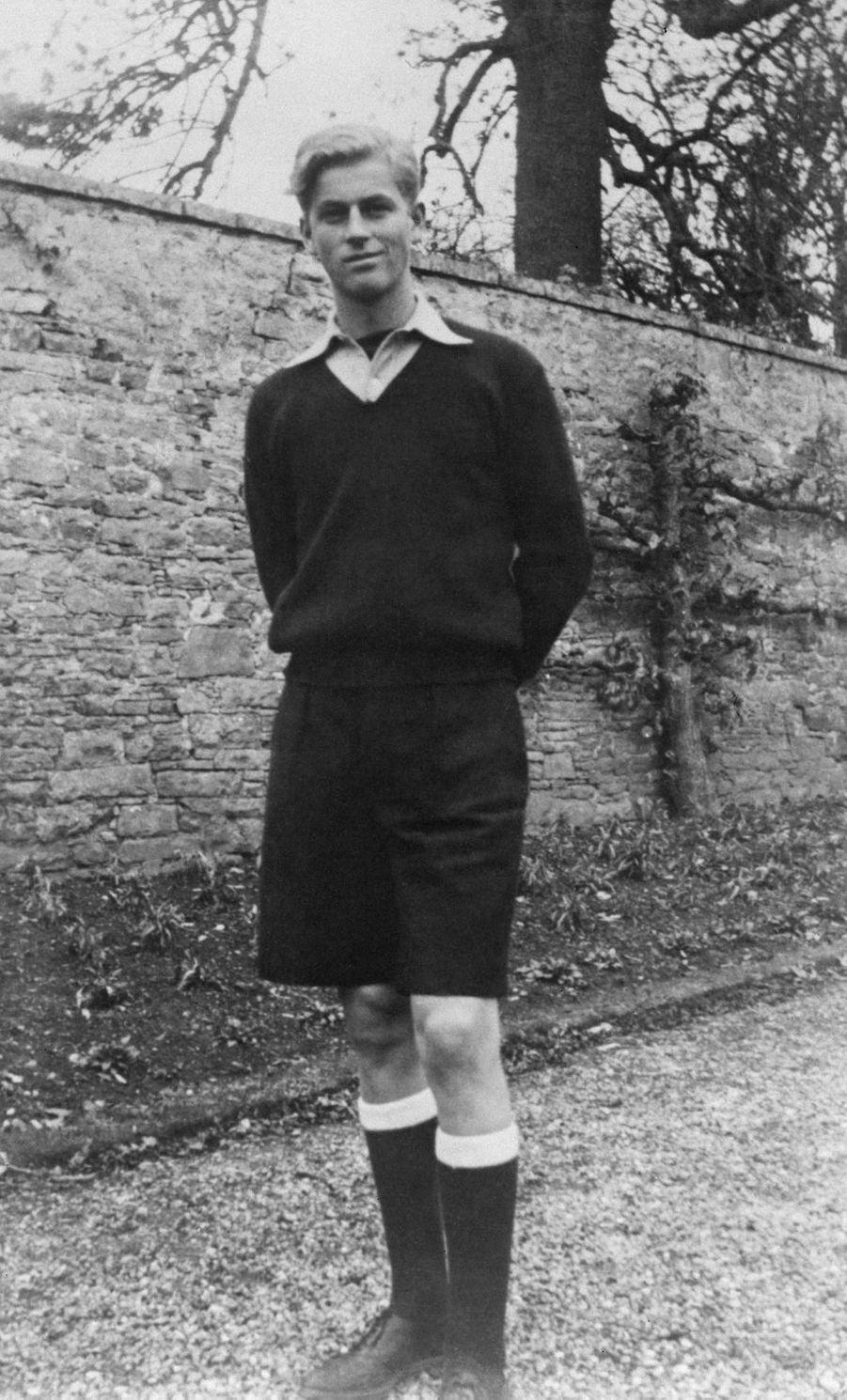 Le prince Philip à 18 ans, le 1er décembre 1939